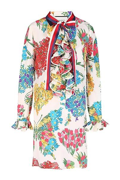 Gucci Mujer 453016ZIP439381 Seda Vestido