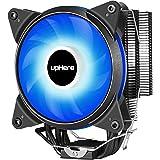 Novonest サイズオリジナル設計 120mmサイドフロー型CPUクーラー 青いLEDファンを搭載した 静音 [Intel/AMD両対応]【ACC92BE】