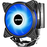 upHere AC CPU Cooler with 120mm PWM Blue Led Fan, Four Direct Contact Heat Pipes