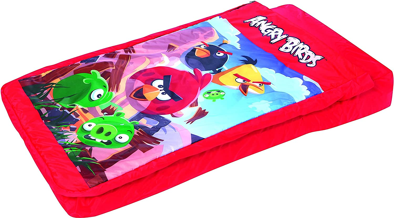 Cama Hinchable Infantil Bestway Angry Birds 132x76 cm: Amazon.es ...