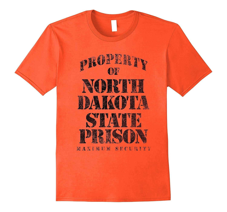 Property of North Dakota Prison Funny T-Shirt-Vaci
