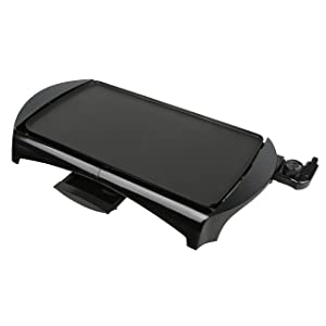 Brentwood BTWTS820 Nonstick Electric Griddle, One Size, Black