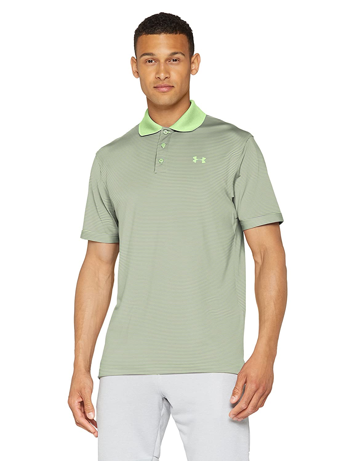 [アンダーアーマー] UA Performance Polo Novelty メンズ 1321344 B072FKLLF4 Medium|Lumos Lime (712)/Lumos Lime Lumos Lime (712)/Lumos Lime Medium