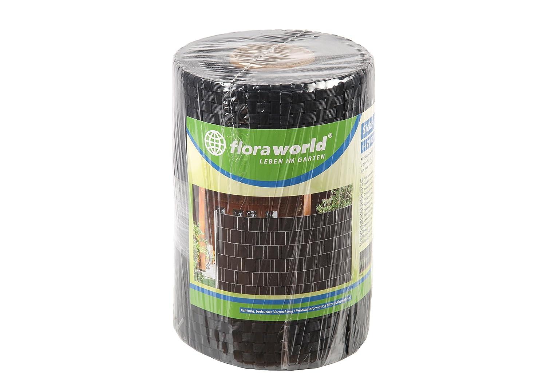 Anthrazit Floraworld 017285 Sicht-// Wind und Objektschutz Comfort 5er Set 201,5 x 18 x 19 cm