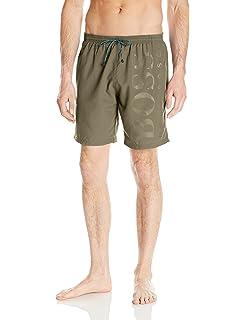 237d4d3b Amazon.com: Hugo Boss BOSS Men's Killfish 7.2 Inch Swim Trunk: Clothing