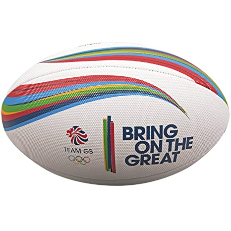 Gilbert Unisex Team GB Supporter - Balón de Rugby para Playa ...