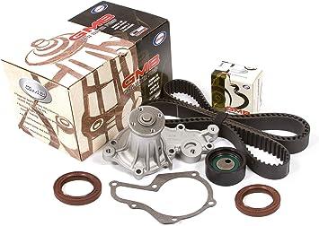 Evergreen TBK095WPT Fits Suzuki G13A 8-Valves SOHC Timing Belt Kit w//Water Pump