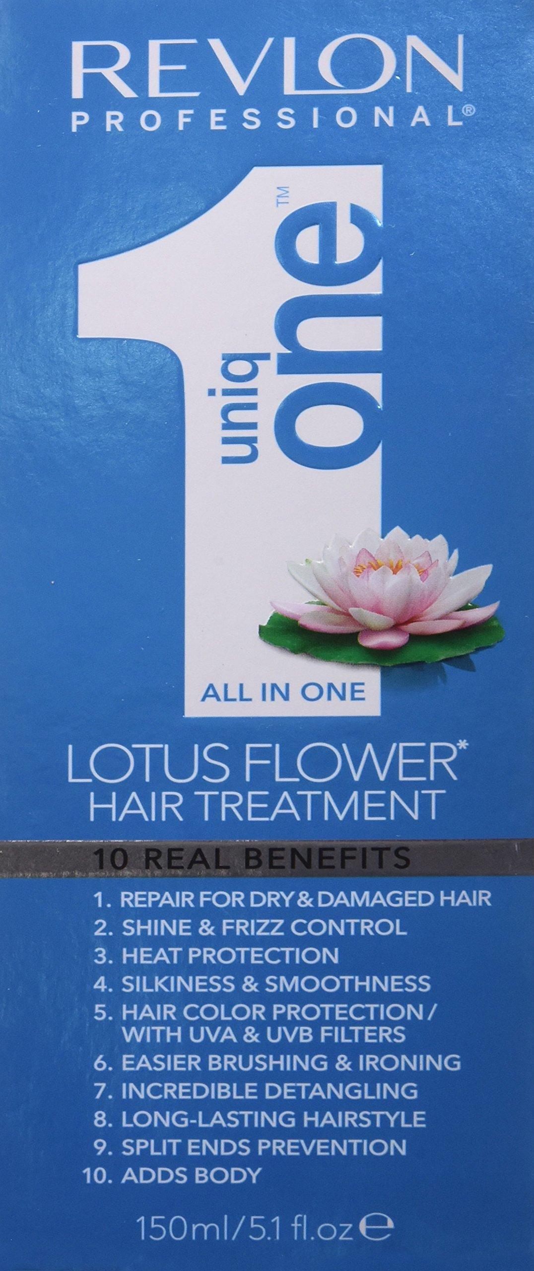 Revlon Uniq One Lotus Flower Hair Treatment For Women Treatment 51