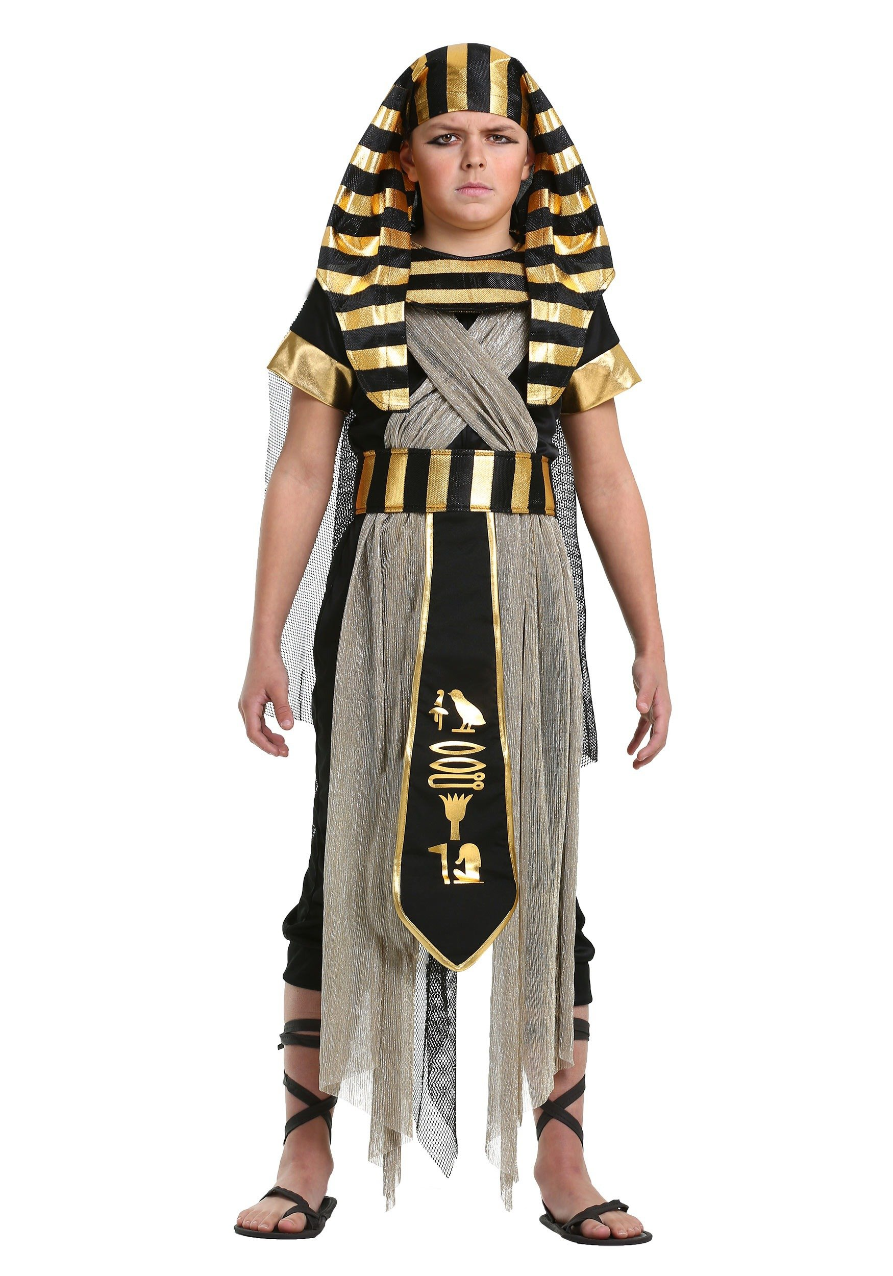 Boys All Powerful Pharaoh Costume Medium