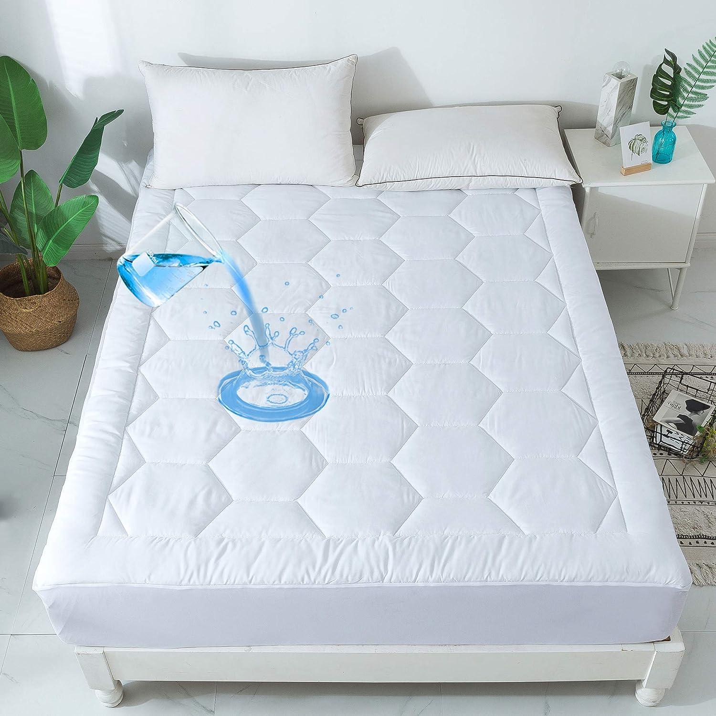 Amazon.com: COSYBAY - Funda de colchón impermeable ...