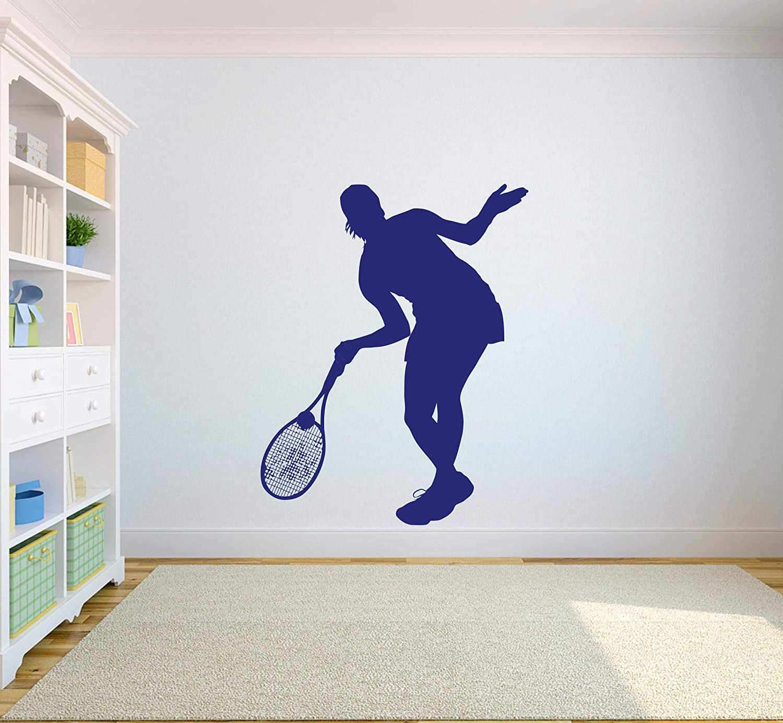 . Amazon com  Tennis Wall Decal Tennis Logo Home Decor Sports Sticker