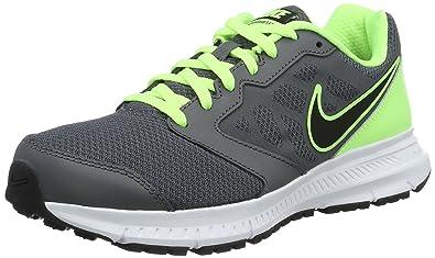 new styles d6f90 44390 Nike Men s s Downshifter 6 Running Shoes, (Dark Grey Black-Ghst Grn-