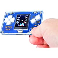 Micro Arcade Credit Card Sized Tetris Game