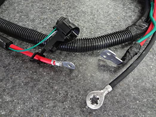 amazon com: 1999-2000 jeep grand cherokee battery cable wiring harness  positive negative mopar: automotive