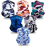 Elimoons Bandanas for Men & Women Breathable Cooling Neck Gaiters,Summer UV Protection Face Cover Outdoor Sport Reusable…