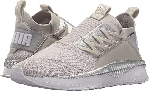 PUMA Women s Tsugi Jun Gray Violet Puma White Silver 9 B US  Buy Online at  Low Prices in India - Amazon.in 9809223d2