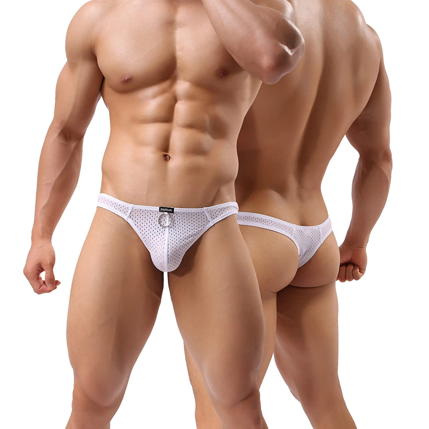 MuscleMate Hot Men's Thong Underwear, 2018 F/W Collections, Men's Thong Undie T-Back, Premium Quality Men' s Thong Undie T-Back