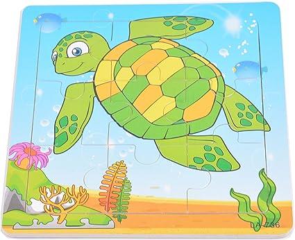 Tiny Souls Wooden Puzzle Tortoise