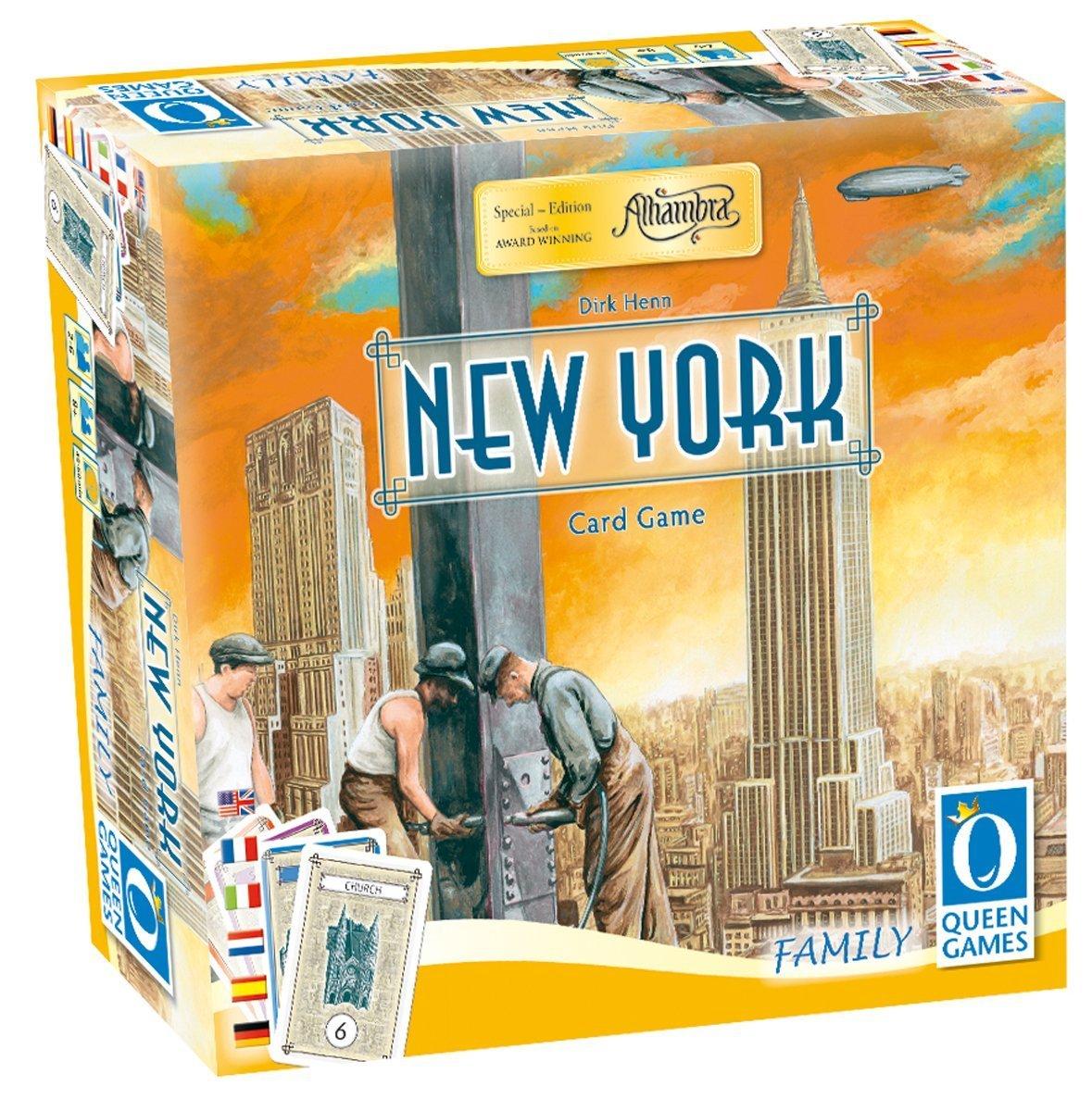Queen Games - New York: The Card Game: Amazon.es: Juguetes y juegos