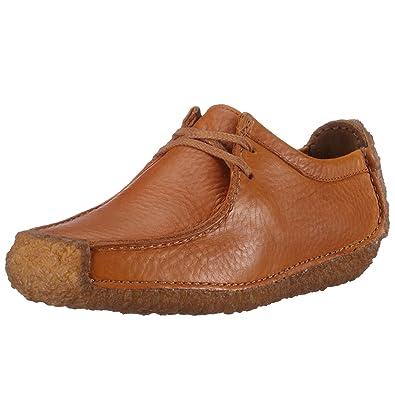 Clarks Natalie Tan Leather 203393274035, Damen Sneaker