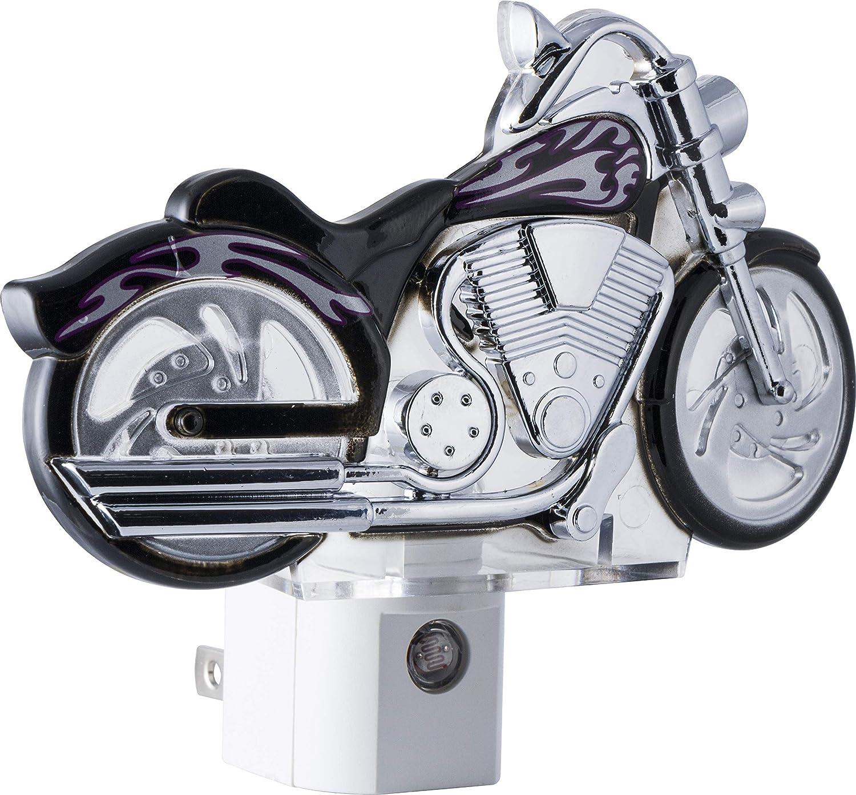 Amazon.com: GE motocicleta luz LED Nocturna, luz Sensing ...