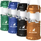 Amazon Price History for:LED Camping Lantern Flashlights Camping Equipment - Great for Emergency, Tent Light, Backpacking, 4 Pack Gift Set