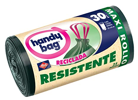 Albal Handy Bag Resistente Reciclada - 25 Bolsas: Amazon.es ...