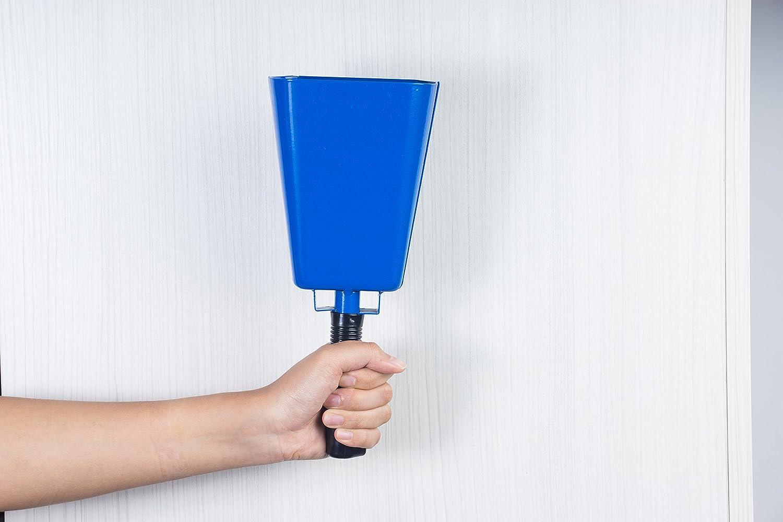 Bleu jeux 12,1/x 27,9/x 6/cm /Cloche de vache Noismaker Sports fort Cloche dappel pour Cheers mariages Cloche avec poign/ée/ Ferme