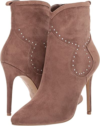 3e478cace81 CHARLES BY CHARLES DAVID Women s Plot Ankle Bootie Taupe Microsuede 5 ...