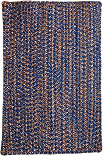 "product image for Capel Rugs Team Spirit Runner Rug, 24"" x 8', Blue Orange"