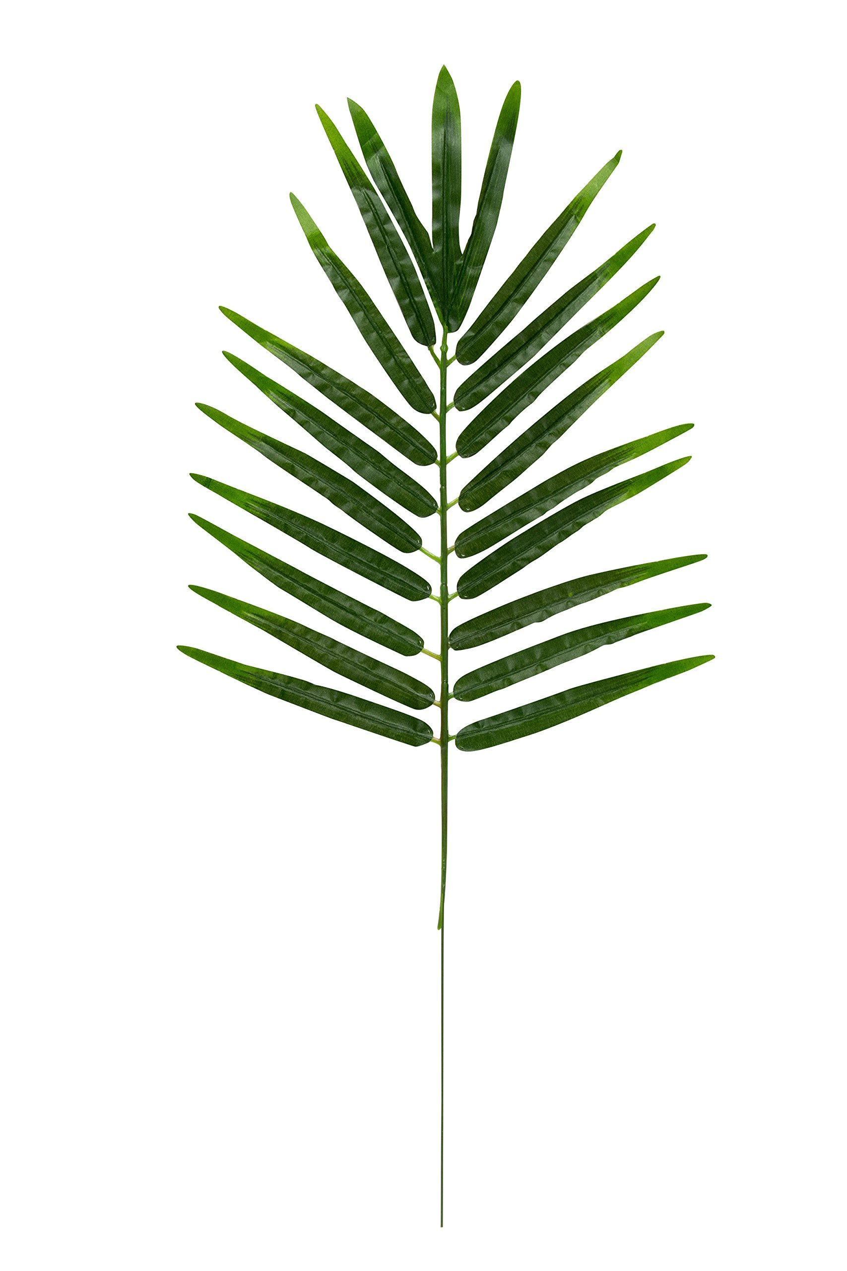 Blue-Panda-Faux-Fern-Leaves-12-Pack-Fake-Tropical-Leaves-Artificial-Palm-Leaves-Hawaiian-Luau-Party-Pool-Party-Decorations-Green-21-x-102-inches