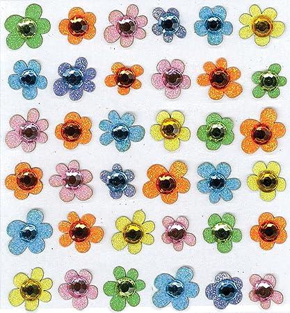 Amazon.com: Jolee Boutique del bebé Gem flores dimensionales ...