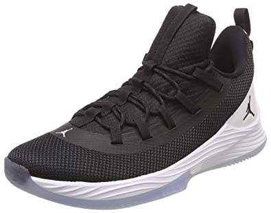 brand new 95abb 94852 Nike Men's Jordan Ultra Fly 2 Low Black-White Basketball ...