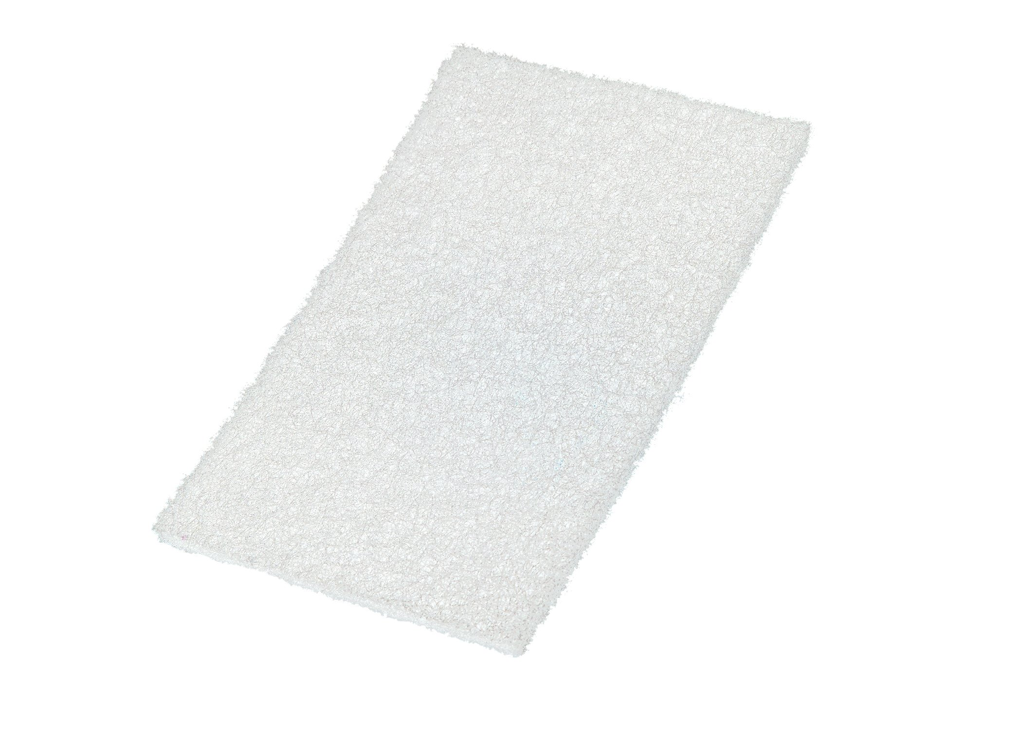 VSM 401246 Abrasive Hand Pad, White, 6'' x 9'' (Pack of 10) by VSM