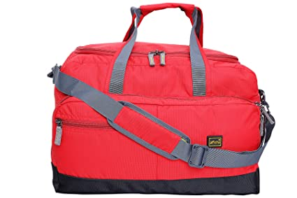 Alfisha Red Lightweight Waterproof Luggage Travel Duffel Bag  Amazon ... 7d34323a97