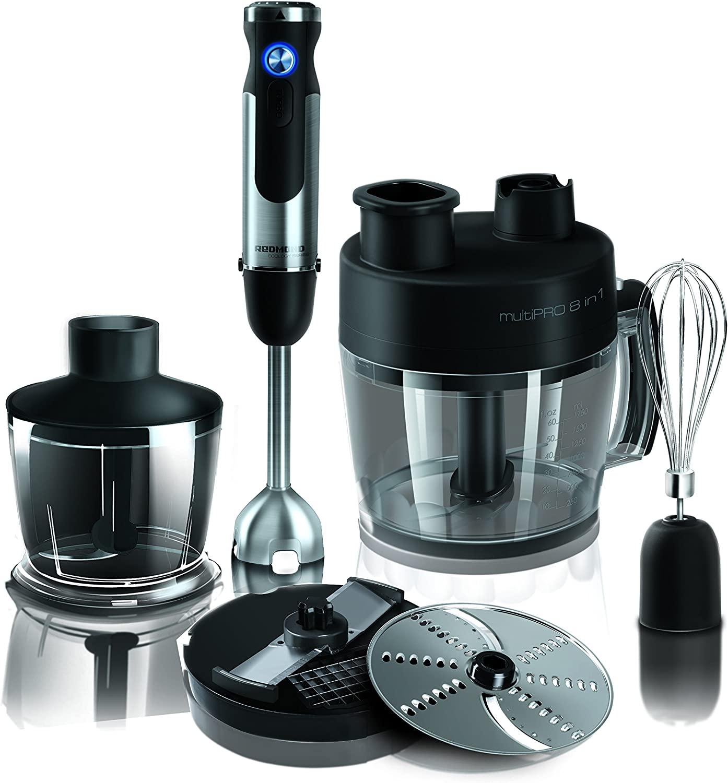 REDMOND RFP-3907-E - Robot de cocina (1,75 L, Negro, Acero ...