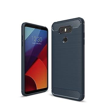 Funda LG G6, Carcasa LG G6, Alta Calidad Fibra de Carbono ...