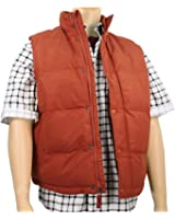 Men's Marty McFly Puffer Vest Rust