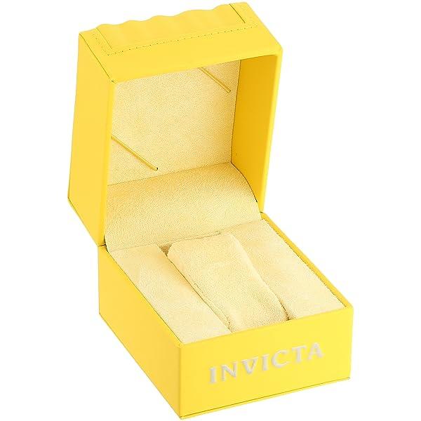 RELOJ INVICTA PARA HOMBRES - de goma ABS de 45mm de Coalición Efectiva - Selección de Color: blanco - 25326