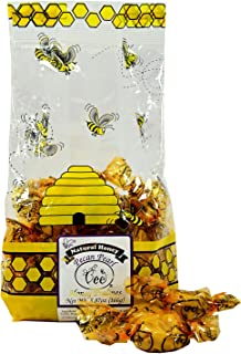 product image for Queen Bee Gardens Natural Honey Caramel Pralines Candy Chews – 5.87 oz – Pecan Pearl