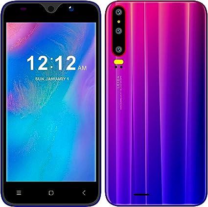 3G Móviles y Smartphones Libres, Unlocked Teléfono Móvil Libre y sin Bloqueo de SIM, 5.0 Pulgadas Android GO Teléfono (5.0MP HD Cámara,Dual SIM,1GB RAM & 4GB ROM (GPS,WiFi,Bluetooth.) (P30mini-Azul): Amazon.es: Electrónica