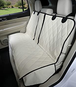 Peachy 4Knines Dog Seat Cover With Hammock 60 40 Split And Middle Seat Belt Capable Usa Based Company Uwap Interior Chair Design Uwaporg