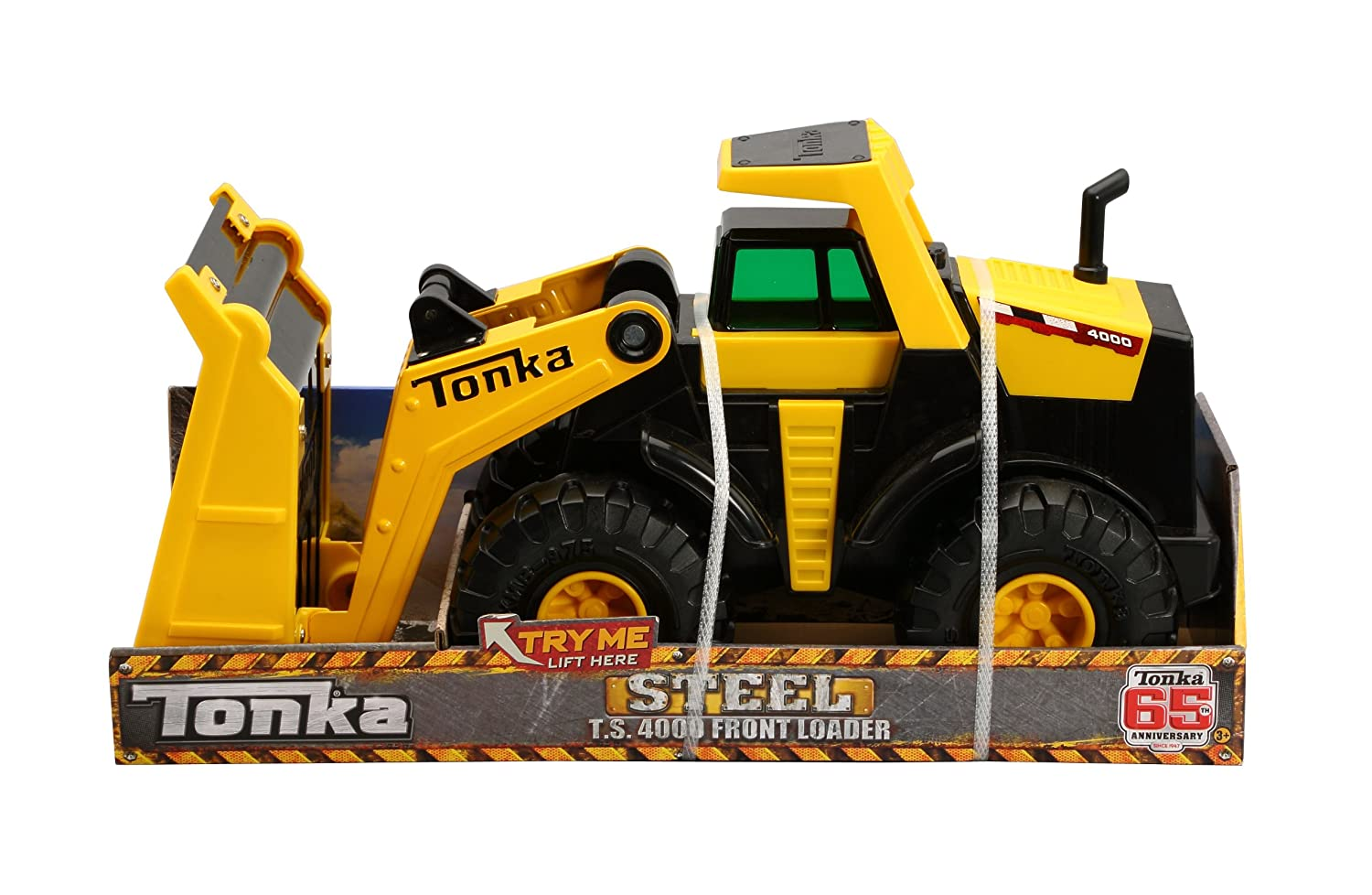 amazon com funrise tonka ts4000 steel loader toys u0026 games