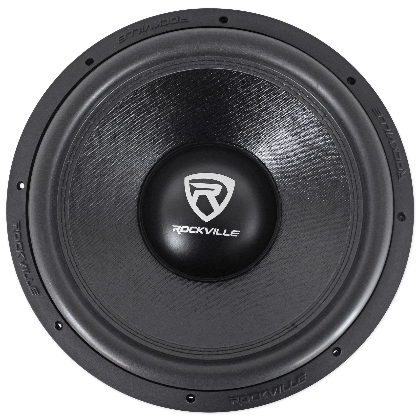 Rockville W15K6D4 V2 15'' 4000w Car Audio Subwoofer Dual 4-Ohm Sub CEA Compliant