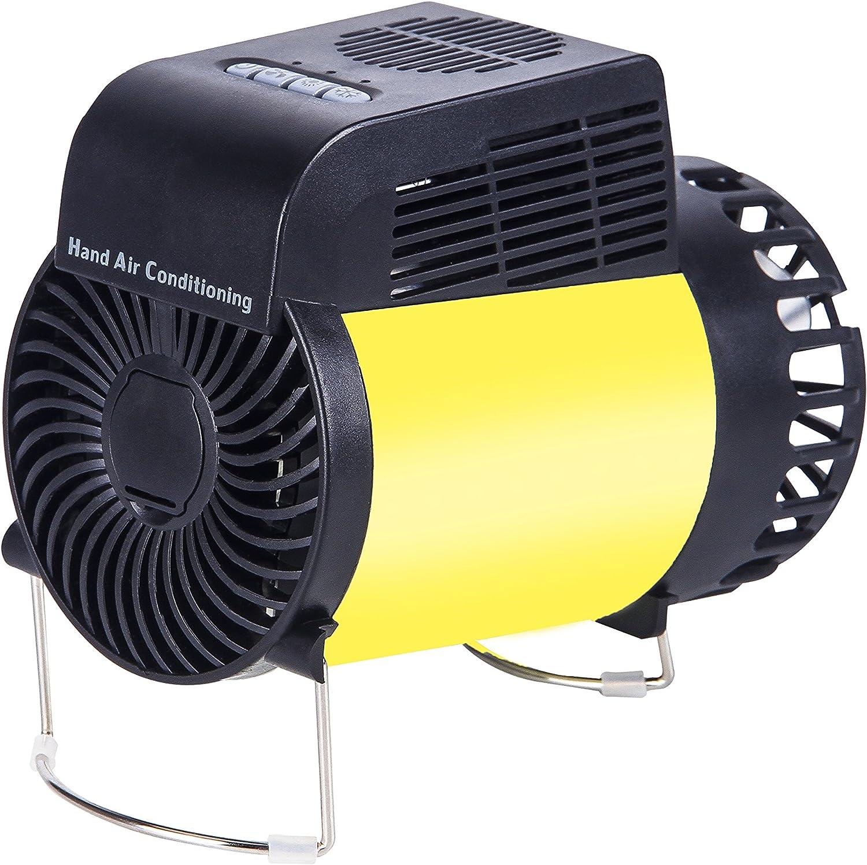 Ventilador portátil pequeño y mini, de aire, con USB recargable para aire acondicionado, aire caliente y frio, para casa, oficina y viajes: Amazon.es: Hogar