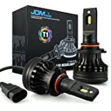 JDM ASTAR Newest Version T1 10000 Lumens Extremely Bright High Power 9005 All-in-One LED Headlight Bulbs Conversion Kit, Xenon White