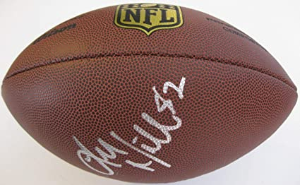 b20aa121226 Image Unavailable. Image not available for. Color  Luke Wilson Signed  Football - seattle Seahawks ...