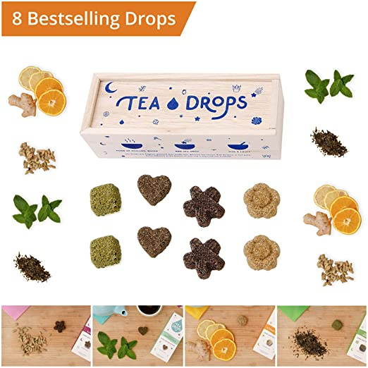 Tea drops the instant organic tea