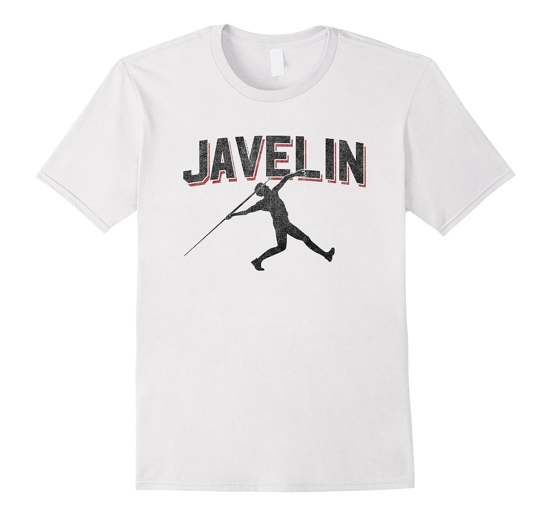 Javelin Throw Sports T Shirt Track Field Athlete Adult Kids-4LVS