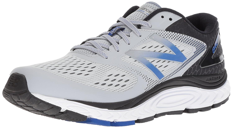 e9b2043afc3ea Amazon.com | New Balance Men's 840v4 Running Shoe, Grey/Blue, 7 4E US |  Road Running
